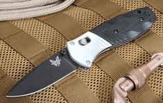 Benchmade 586BK Mini Barrage Assist Opener - Osborne Design