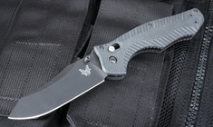 Benchmade 810BK Black - Axis Lock Folding Knife with M4 Steel