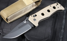 Benchmade Adamas 275 BKSN Black - D2 Steel - Axis Lock Folding Knife
