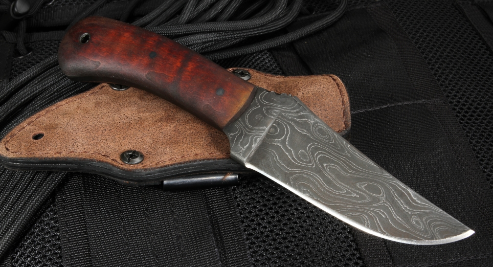 Winkler Blue Ridge Hunter - Caswell and Tan Micarta