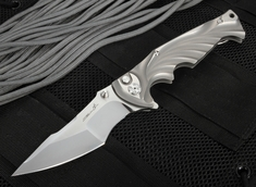 Brian Tighe - Tighe Breaker XL Tactical Folding Knife - RWL34 Steel