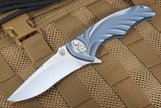 Brian Tighe - Tighe Coon Anodized Tactical Folding Knife