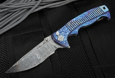 Brian Tighe - Tighe Rade Timascus and Damasteel Dress Folder