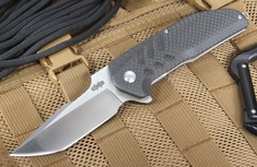Brous Blades Strife - Carbon Fiber Satin Finish Folder