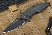 Brous Mini Division Carbon Fiber - Acid Stonewash Finish