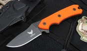 Freeman Compact 451 Orange Fixed Blade Knife
