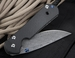 Exclusive Chris Reeve Large Carbon Fiber and Basket Weave Sebenza