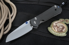 Chris Reeve Carbon Fiber Sebenza 21 - Large Insingo Blade - Exclusive
