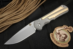Chris Reeve Large Inkosi - Aluminum Bronze Limited Edition Folding Knife
