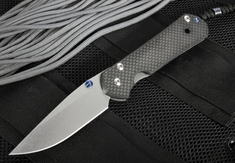 Chris Reeve Large Sebenza 21 Carbon Fiber Folding Knife - Exclusive