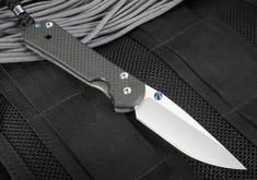 Chris Reeve Large Sebenza 21 Carbon Fiber Folding Knife - Left Hand