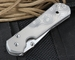 Chris Reeve Large Sebenza 21 Raindrop CGG Folding Knife