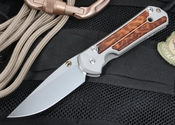 Chris Reeve Large Sebenza 21 Snakewood Inlay with S35VN Steel