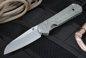 Chris Reeve Large Sebenza  Insingo with Micarta Inlays