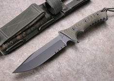 Chris Reeve Pacific Fixed Blade Knife - S35VN Steel - Harsey Design