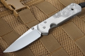 Chris Reeve Small Sebenza 21 - CGG Raindrop Graphic - S35VN Steel