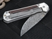 Chris Reeve Small Sebenza 21 Cocobolo - Raindrop Damascus Folding Knife