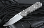 Chris Reeve Small Sebenza 21 Diamond Plate Folding Knife