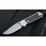 Chris Reeve Small Sebenza 21 Gabon Ebony Inlay