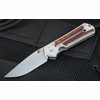 Chris Reeve Small Sebenza 21 Snakewood Inlay
