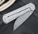 Chris Reeve Small Sebenza CGG Ladder Damascus Folding Knife