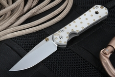 Chris Reeve Small Sebenza 21 - CGG Fastener  - Discontinued Pattern