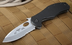 Emerson CQC-10 SFS Serrated Satin Folding Knife