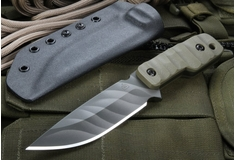 Crusader Forge TCFM -XL OD Green Tactical Fixed Blade -SOLD