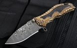 Darrel Ralph Damascus Gun Hammer Assisted Folding Knife - SOLD