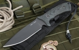 Spartan Difensa Black on Black Tactical Fixed Blade