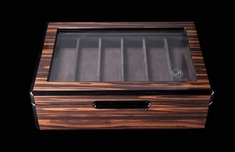Knife Display Case DK - Wood & Glass Presentation Box