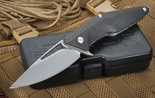Brous Blades Division Carbon Fiber - Stonewashed Finish