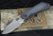Duane Dwyer Custom SNG PSF27 and Blue Ti Folding Knife