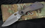 Duane Dwyer Custom SMF U.S. Flag Tactical Folding Knife