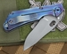 Duane Dwyer Custom SNG Recurve Moku-Ti Folding Knife