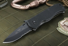 Emerson CQC-7 BTS Black Serrated Blade - with 154CM Steel