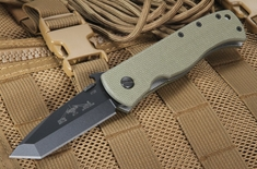 Emerson CQC-7-BW-BT Jungle - Black Blade Folding Knife