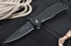 Emerson Gentleman Jim BT -  Black Blade Folding Knife with 154-CM Steel
