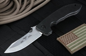 Emerson Horseman SF Satin Finish - Tactical Folding Knife with 154CM Steel