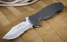 Emerson Patriot SFS Partial Serrations Tactical Knife