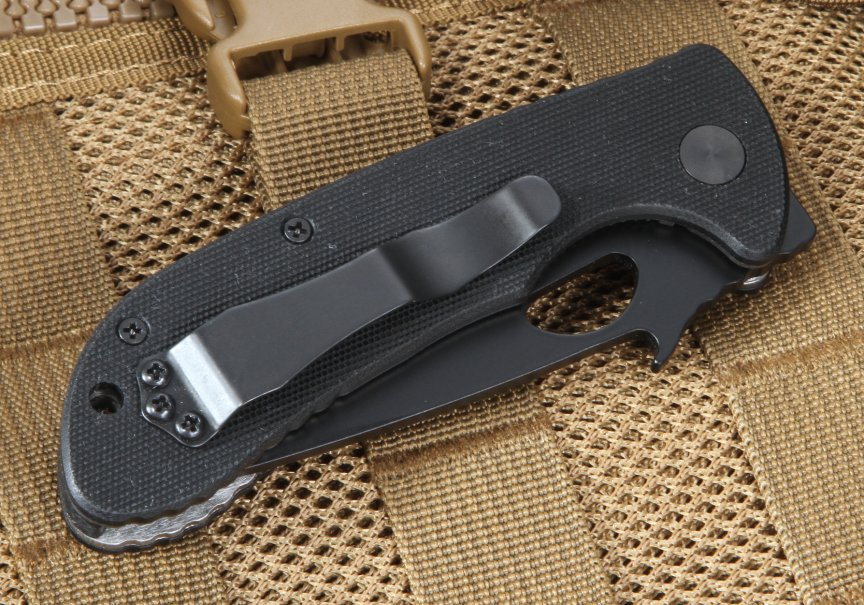 Emerson Reliant BW BT Black Blade Tactical Folding Knife