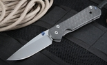 Exclusive Chris Reeve Large Carbon Fiber Sebenza Folding Knife