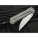 Exclusive Chris Reeve Small Carbon Fiber Sebenza 21 Folding Knife