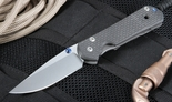 Exclusive Chris Reeve Small Carbon Fiber Sebenza Folding Knife