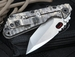 Exclusive Mick Strider Custom SMF CC Folding Knife - Tanto
