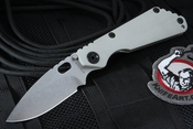 Exclusive Strider SNG CC Arctic Grey Tactical Folding Knife