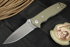 Fantoni HB-03 CPM 125V Steel Limited Edition Folding Knife - Ranger Green