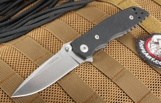 Fantoni HB 03 Black - Harsey Design Folding Knife