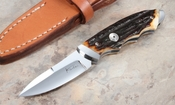 Kansei Matsuno Folding Fixed Blade with Presentation Stag