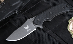 Freeman Compact 451 Black Fixed Blade